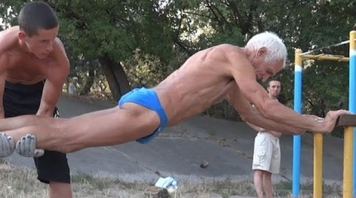 74 years old man strong than you probably are